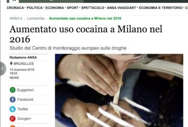 cocaina milano