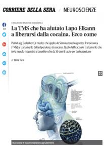 Stimolazione magnetica transcranica (TMS) - Gallimberti Bonci